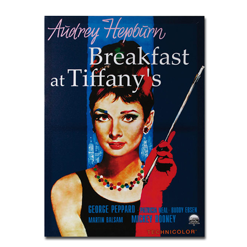 Image of   Breakfast at Tiffany's-canvasbillede