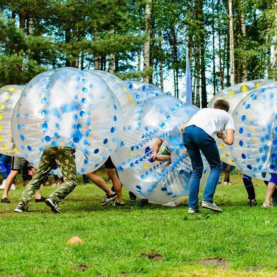 Bumberball for 8-20 personer - Ringsted