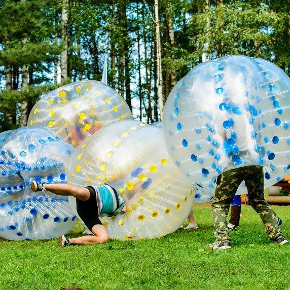 Bumperball for 8-20 personer - Ikast