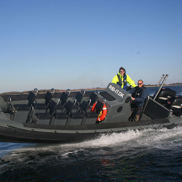 1 times RIB sejlads for 1 person - Aalborg