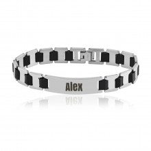 PERSONALIZED MENS BRACELET