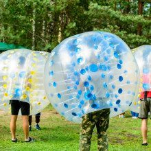Bumperball for 8-20 personer - Ribe