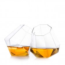 Whiskyglas med diamantform 2