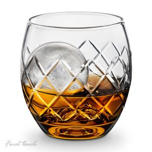 "Whisky glas ""Hand Cut"" af Final Touch"
