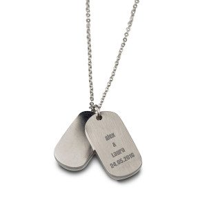 DELICATE PERSONALIZED DOG TAG