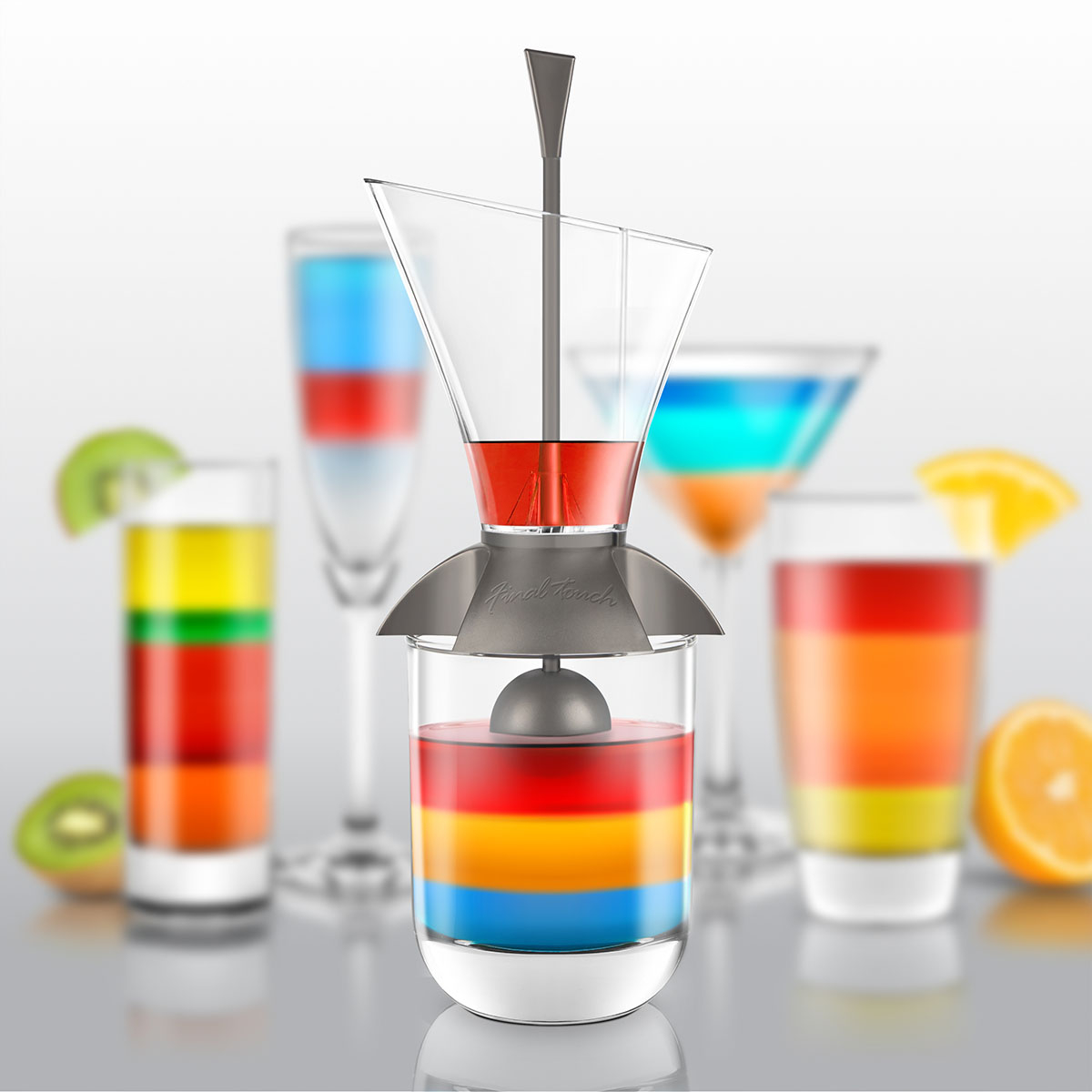 "Image of   Cocktail Set ""Rainbow"""