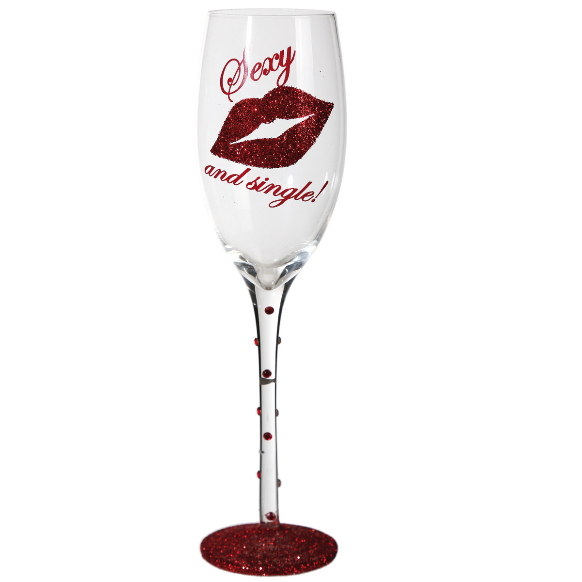 Image of   Sexy & Single - champagneglas